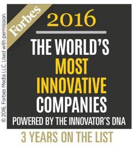 ASSA ABLOY, conosciuto a livello mondiale nel settore della sicurezza. si è classificato tra le 100 imprese più all'avanguardia, per magazine statunitense di economia e finanza Forbes.