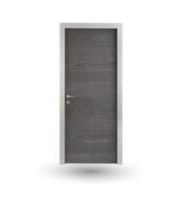 Porta da interno collezione Iki modello In frassino decapè antracite | DF Serramenti