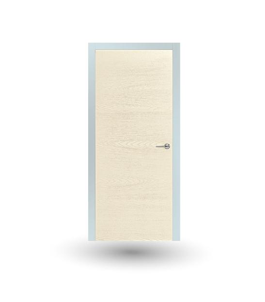 Porta da interno collezione Iki modello In frassino spazzolato avorio | DF Serramenti