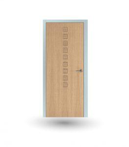 Porta da interno collezione Iki modello In rovere ghiaccio | DF Serramenti