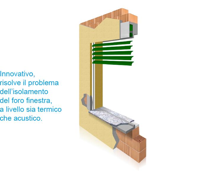 THERMOCASSE Isolamento termico per Cassonetto Frangisole