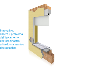 THERMOCASSE Isolamento termico per Cassonetto Telo