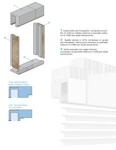 THERMOCASSE Isolamento termico Dettaglio Frangisole