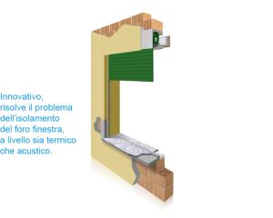THERMOCASSE Isolamento termico Ispezzione interna Avvolgibile