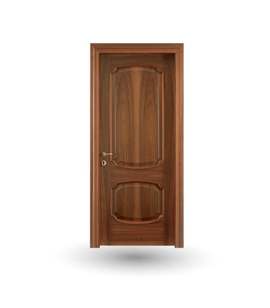 Porta da interno collezione Wood modello Effigies noce nazionale | DF Serramenti