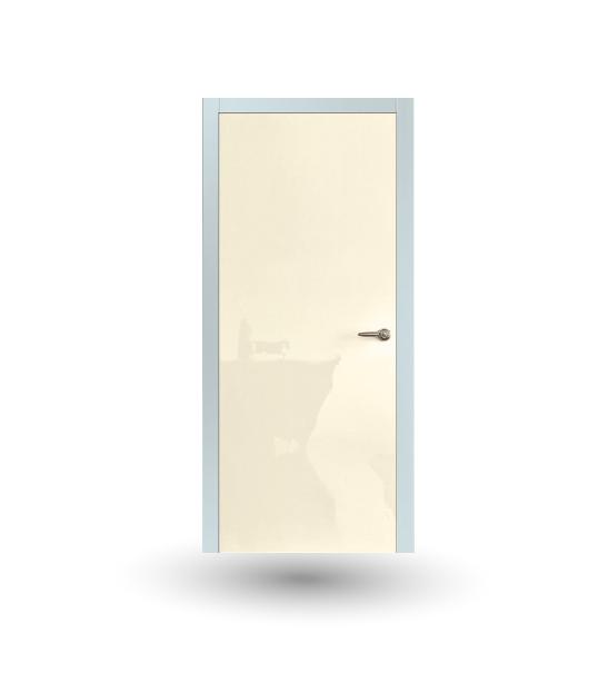 Porta da interno collezione Iki modello Laccato Shine Avorio | DF Serramenti