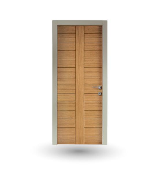 Porta da interno collezione Iki modello Rovere miele | DF Serramenti