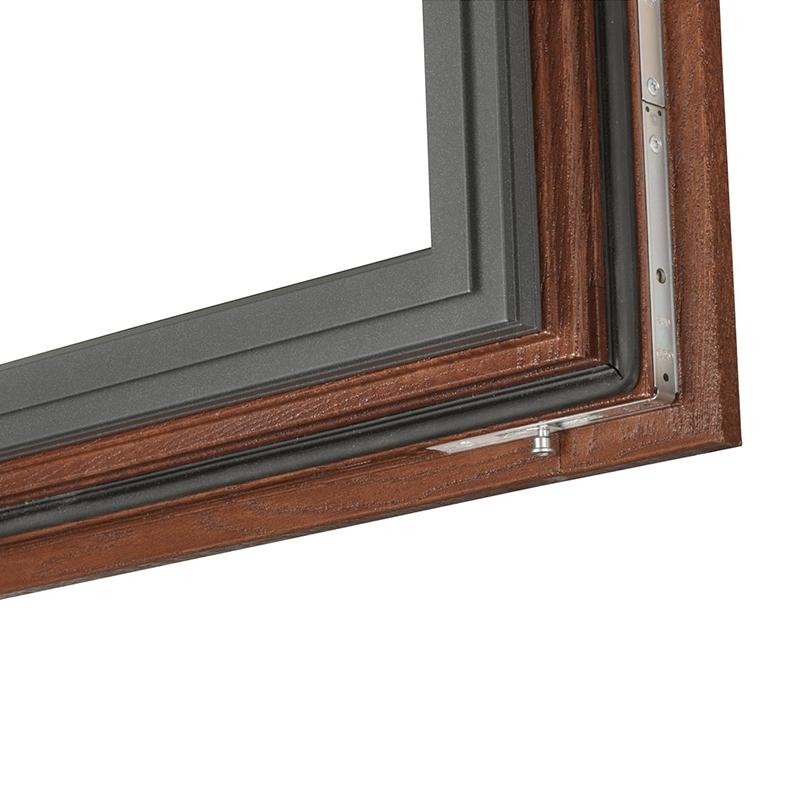 Finestre Linear in legno e alluminio | DF Serramenti