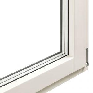 Particolare Finestra Climax in legno e alluminio| DF Serramenti