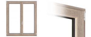 Finestra Climax in legno e alluminio | DF Serramenti