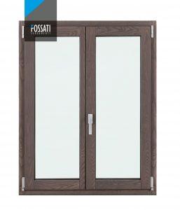 Finestra in legno e alluminio Fossati Thermic 2.0   DF Serramenti