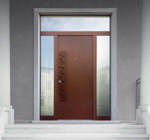 Porta blindata Bauxt Corten Superior M16 | DF Serramenti