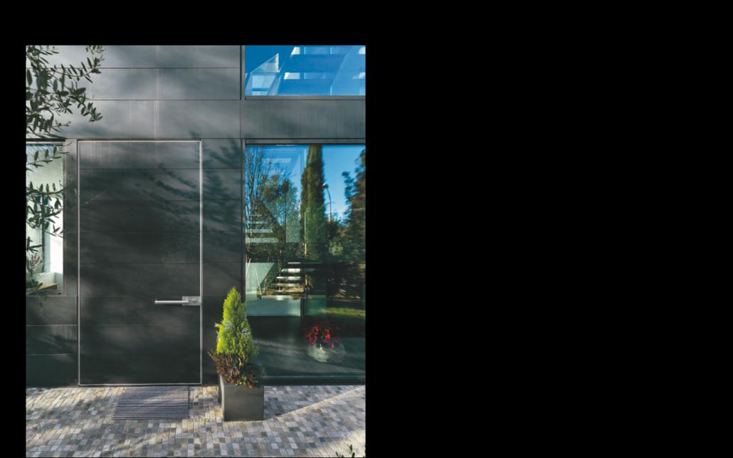 Vista porta blindata Superior M16 | DF Serramenti