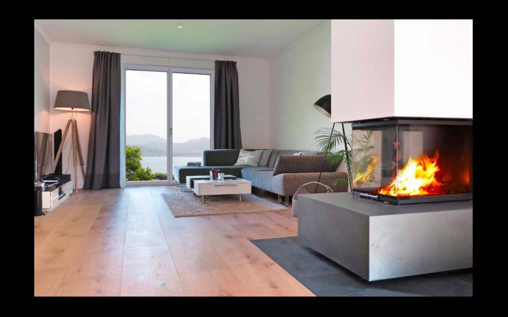 Applicazione Finestra Skywood Evo in legno e alluminio | DF Serramenti