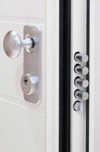 Dettaglio mandate portoncino in Alluminio Kopen | DF Serramenti