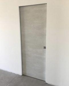 Porta Interna Scorrevole Eterea Raso Muro Dorigo | DF Serramenti