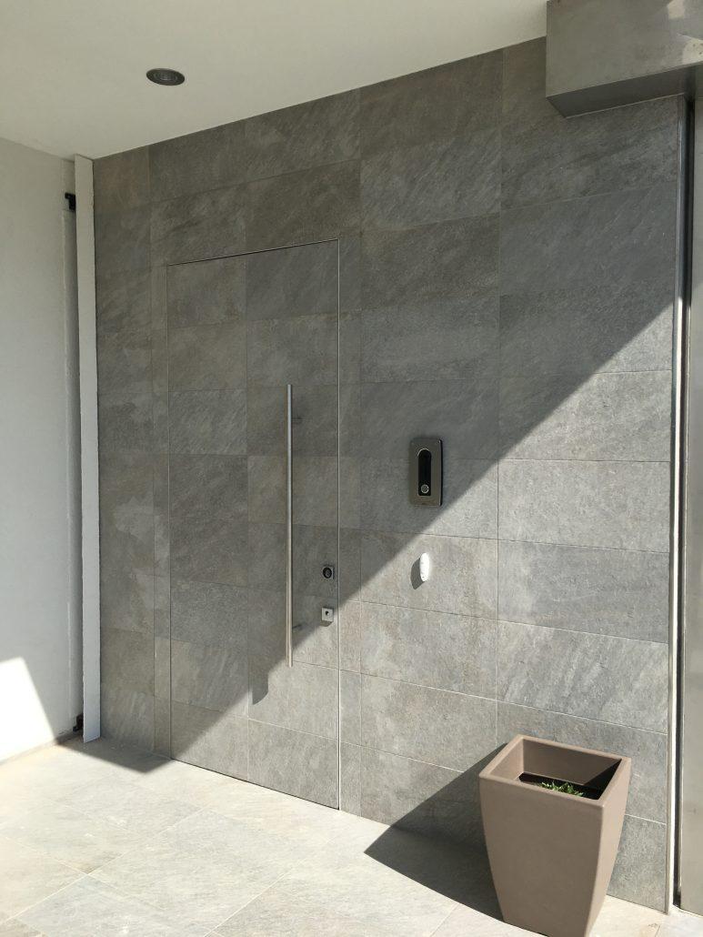 Porta Blindata Monolite Raso Muro | DF Serramenti