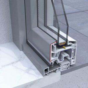 FINESTRE LINEA WINK UP infisso in PVC/Alluminio DF Serramenti