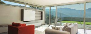 FINESTRE LINEA WINK UP slim evo energy infisso in PVC/Alluminio DF Serramenti
